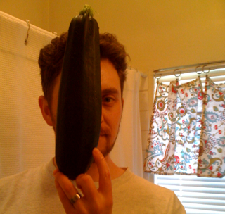 That's a big zuchinni