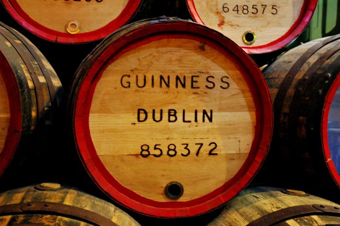 Guiness barrel